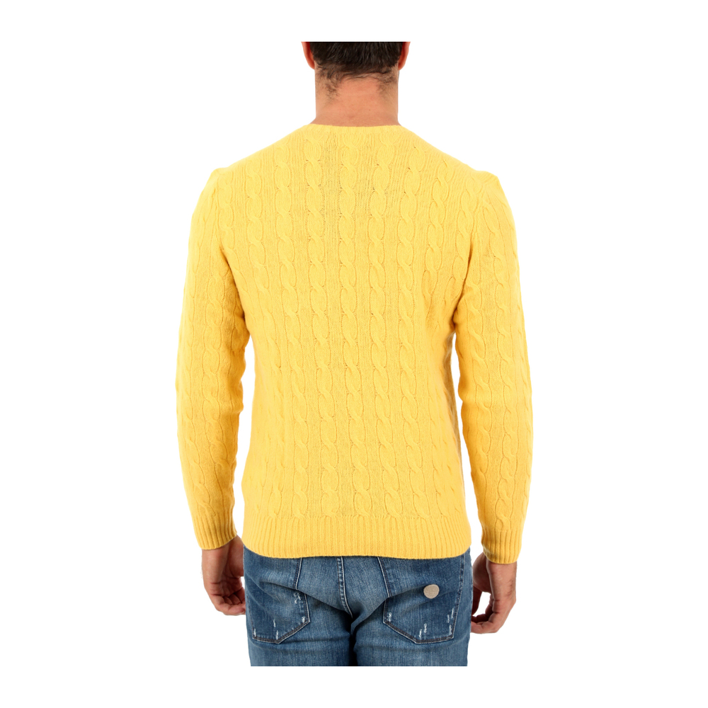 Yellow Sweater | Marios | Sweaters | Heren winter kleren