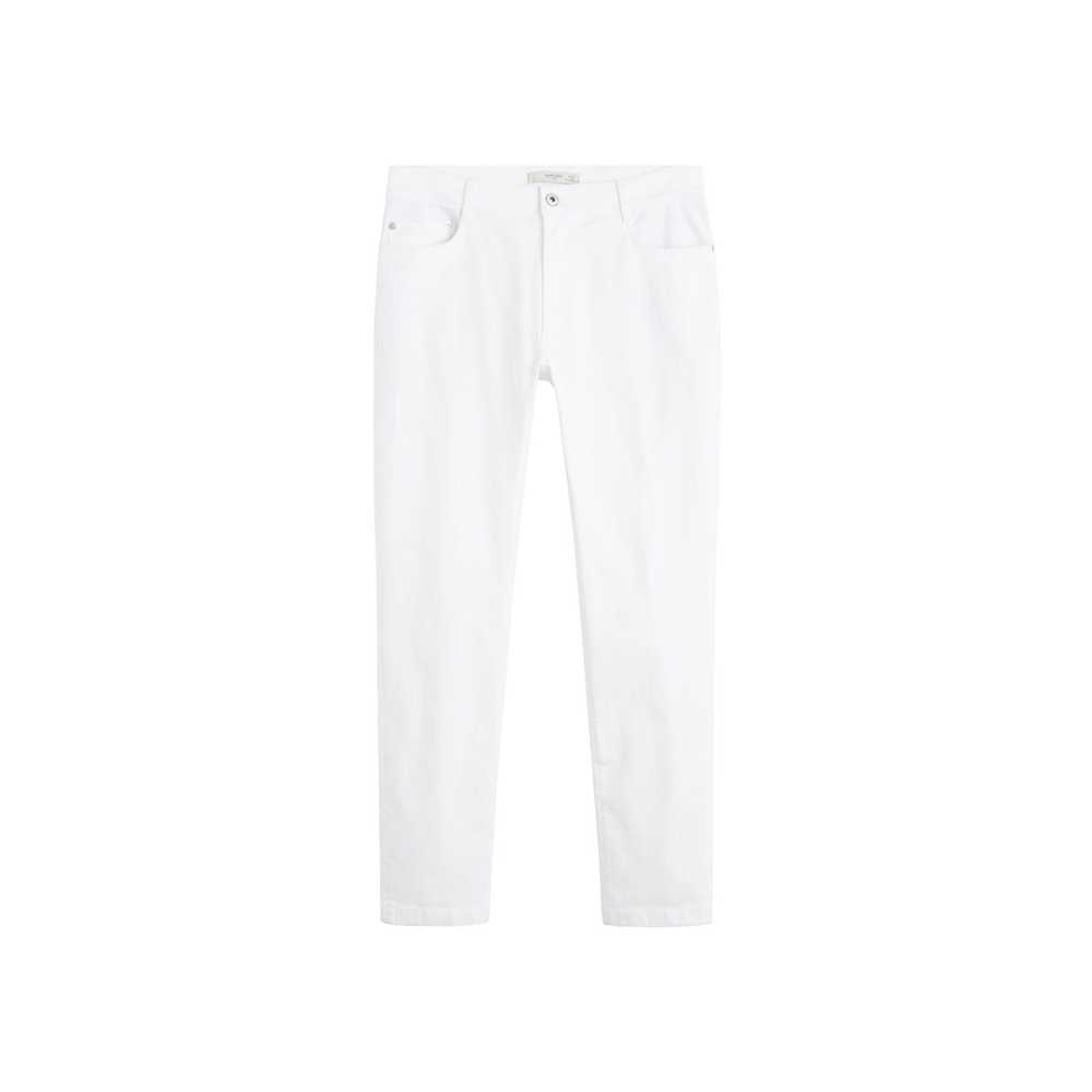 Slim-fit jeans i hvid denim