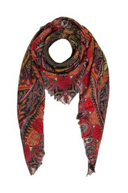 Cashmere and Silk  Paisley Shawl