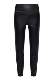 Cora leather leggings