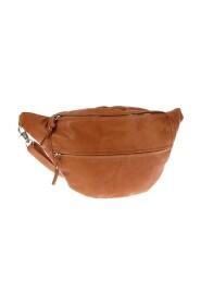 stor bälte väska i läder