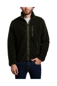 Elm fleece zipped sweatshirt