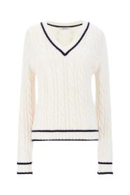 Belgica V-Sweater Tops