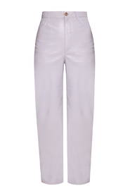 High-wasted trousers