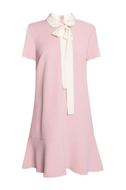 DRESS WITH COLLAR DETAIL