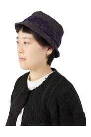 19c embroidered linen hat