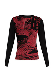 A Touch T-shirt with long sleeves