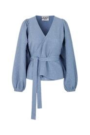 Galaxy Wrap Blouse Bluse Og Skjorter