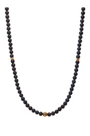 Men's Beaded Necklace with Matte