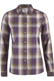Fjällräven Övik Flanell Shirt LS W Alpine Purple