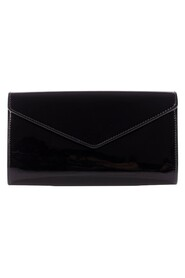 Patent Leather Y Mail Envelope Clutch