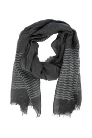 Striped Glitter Scarf