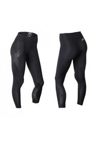 2XU. - MID.RISE - KOMPRESSION.TIGHTS - SORT.SØLV