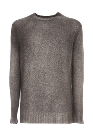 ROUND NECK BRUSHED PULLOVER