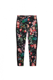 Leah pants black blossom