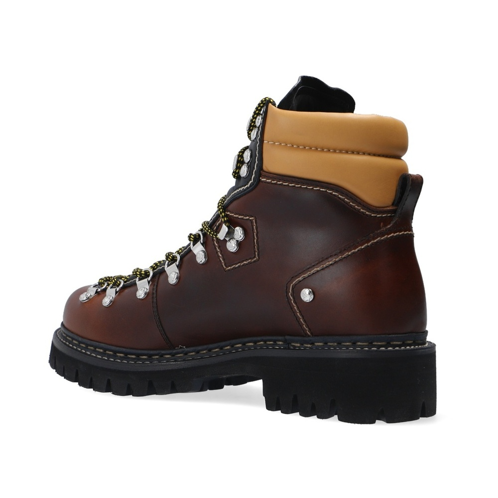Dsquared2 Brown Boots with logo Dsquared2