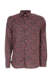 TAILORE FIT SHIRT W/FLOWERS