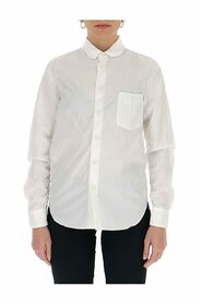 Lily   ruched-effect shirt