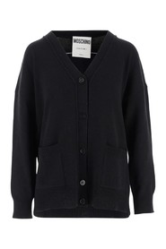 Cashmere cardigan with V-neck