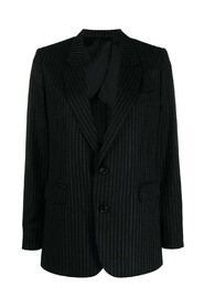 STRIPED TWO BUTTONS JACKET