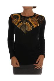 Stretch Baroque Pullover Sweater