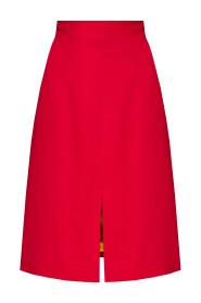 Skirt with split