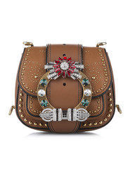 Dahlia Leather Crossbody Bag
