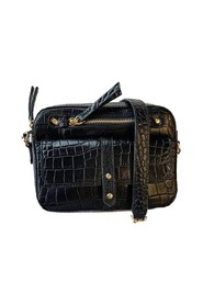 Jerry croco effect leather bag