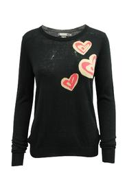 Sweater With Hearts Pre Owned Condition Very Good