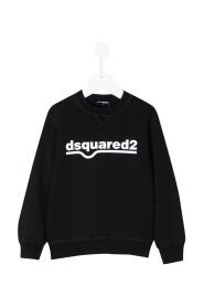 TEEN logo-print cotton sweatshirt