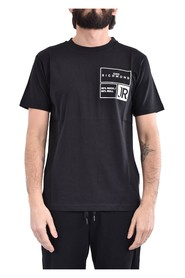 T-shirt dincht in cotone