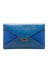 Pre-owned Diamond Clutch Bag Leather Calf