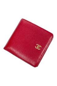 Składany portfel z logo z przodu