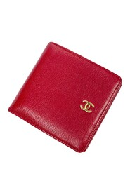 Pre-owned Front Logo Bifold Wallet