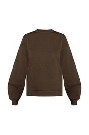 Sweatshirt with slits