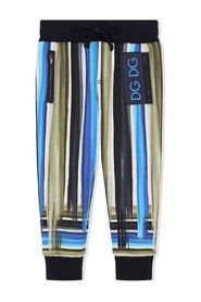Painted Stripe Track Pants