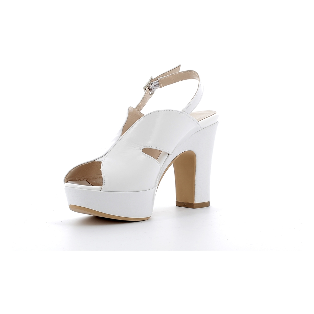 Need White High heel sandals Need