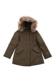 giacca Arctic Parka bambina in tessuto Ramar idrorepellente scuro