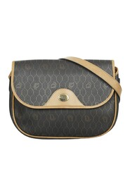 Pre-owned Honeycomb Crossbody Bag Fabric Coated Canvas