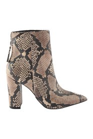 Renn boots with snake print