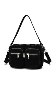 Noella Bag - Celina, Real Suede Black