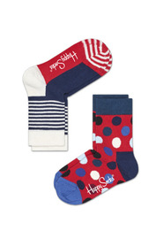 2-PACK BIG DOT SOCKS KBDO02