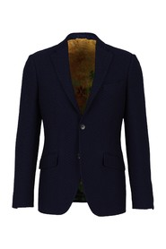 Wool straight jacket