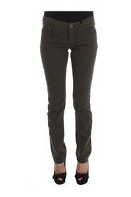 Cotton Blend Slim Fit Jeans