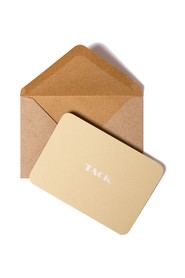 Small Cards Envelope Tack