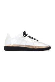 Transparent sneakers