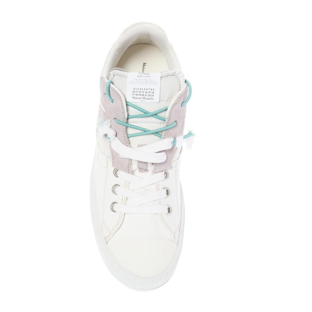 White Patched sneakers | Maison Margiela | Sneakers | Herenschoenen