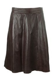 leather skirt 100069