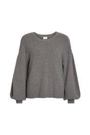 Knitted Top Balloon sleeved