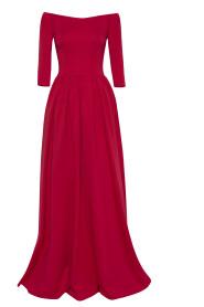 Wieczorowa sukienka hiszpanka